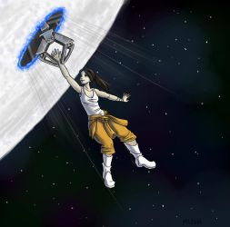 Chell's Rescue by ImaginaryGoddess