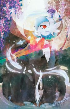 Shiny Mega Gardevoir [Commission] by Mechamyu