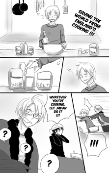 Hetalia - Saving the world from England's cooking by megane-no-buta