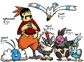 Petty's Birdlocke- Team by pettyartist