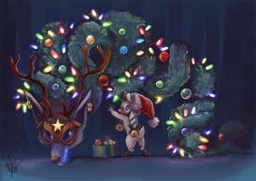 Kindred Christmas idea  by 99g3ny99