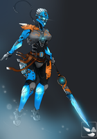 BIONICLE: Gali, Uniter of Water by gk733