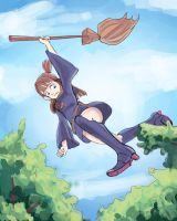 Little witch academia colored by ksilver
