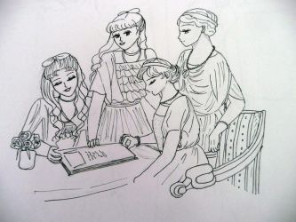 Reading by EmpressofHeaven