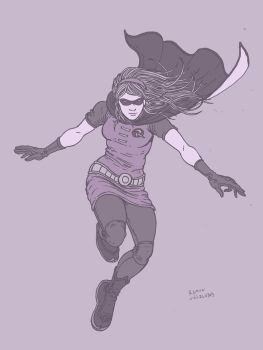 Stephanie Brown Robin by RamonVillalobos