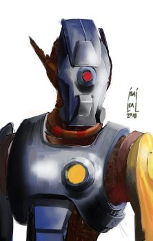 robot arrack by maul10