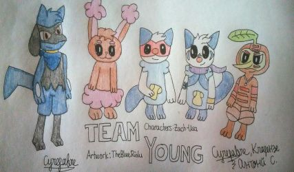 Team Young by TheBlueRiolu