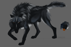 maybe stop making black wolves for once by Chickenbusiness