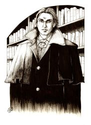 Count Dracula by DocRedfield