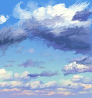 Clouds 2015-08-31 Quick Study by Hunternif