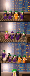 Lego Batman villains variants by Scurvypiratehog