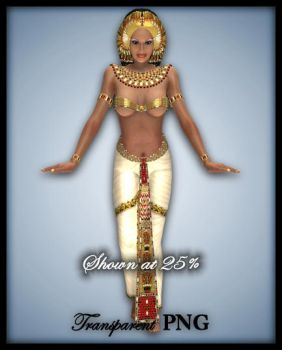 Egyptian Queen-Figure Stock by shd-stock
