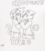 Chocolate x Taro by ShadAmyfangirl129