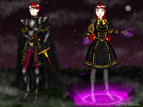 The Archiduchess and her brother by Avantharis