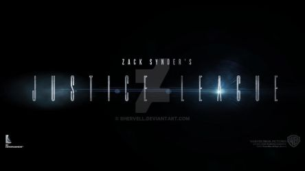 Zack Synder's Justice League (Title Card) by Shervell