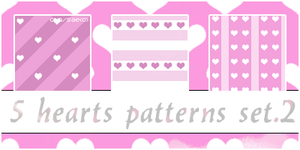 Hearts Patterns 2 by enisaat