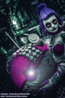 Sewn Chaos Orianna - Two in One by AHu-PL