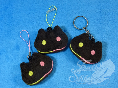 Cookie Cat Soft Charms! by FeatherStitched