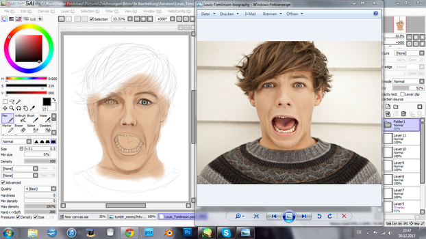 Louis Tomlinson [Work in Progress] by xXNessiXx