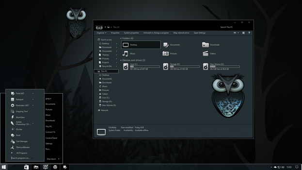 Owl In One for Windows 10 RS 2 by gsw953onDA
