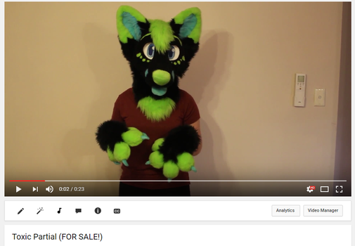 Toxic partial video (FOR SALE) by Derpzalot