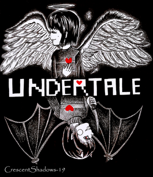Undertale by crescentshadows19