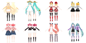 [MMD] ...and there's more of them [WIP] by HikariShironeko
