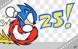 25 Years of Sonic by CencanMS