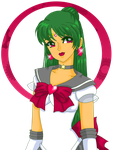 Super Sailor Pluto by Sailor-Serenity