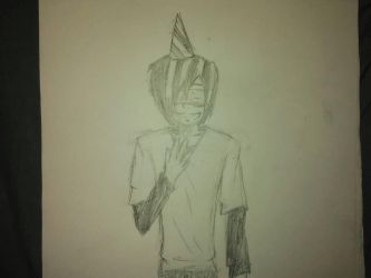 Ethan in a Party Hat by ShadowoftheMoon138