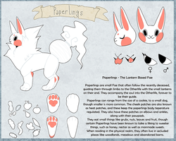 Paperlings - Info Sheet by Fasius