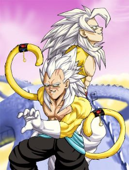 The God Super Saiyans by StickMaster5000