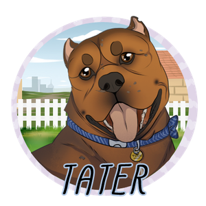 Tater Badge | DoC by EquestrianJade
