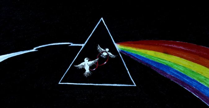 Dark side of the moon by MetalFaie