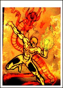 Iron Fist ( Fire Fury) by bauel