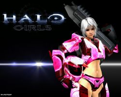 Halo Girls by JPL-Animation
