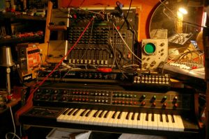 Vermona Synthesizer and other electronics by SteampunkGorgon