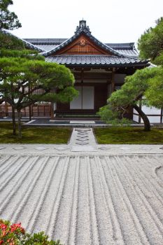 Temple With Garden by Quit007