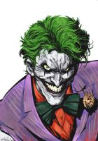 JOKER capullo Color by ME by GabRed-Hat