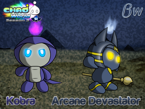 Chao World S3 - Nocturnal Dangers of the Desert. by Blizzard-White