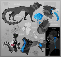 Finch Reference 2016 by Dusty-Demon