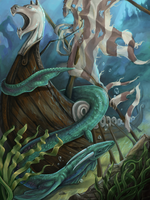 Myths of the Depths by Snapdragoon