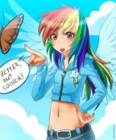 But cooler by RacoonKun