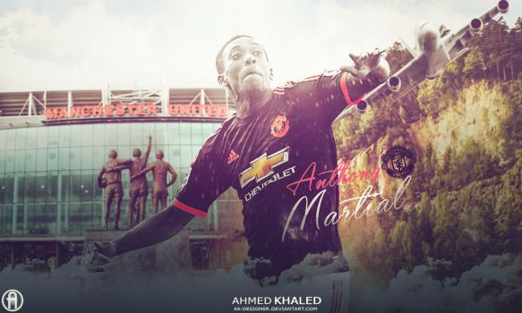 Anthony martial 2016 by AK-DESIGNER