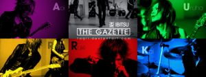 THE GAZETTE - IBITSU WALLPAPER by Taqii