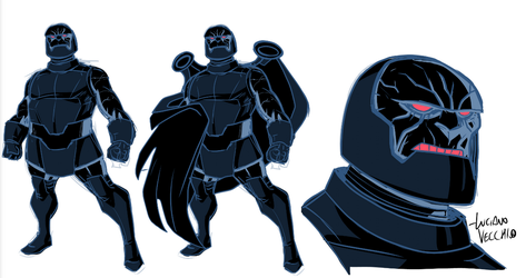 Young Darkseid by LucianoVecchio