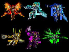 Toa Uniters by Toa-Shifter
