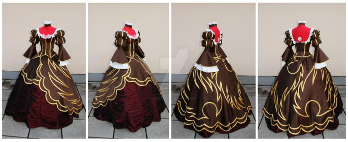 Beatrice dress commission by lady-narven