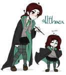HP OC: Althaea by LunaticLily13