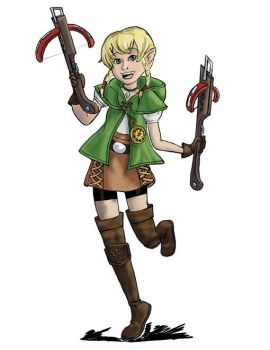 Linkle (colored version) by SpaceCaseMeg
